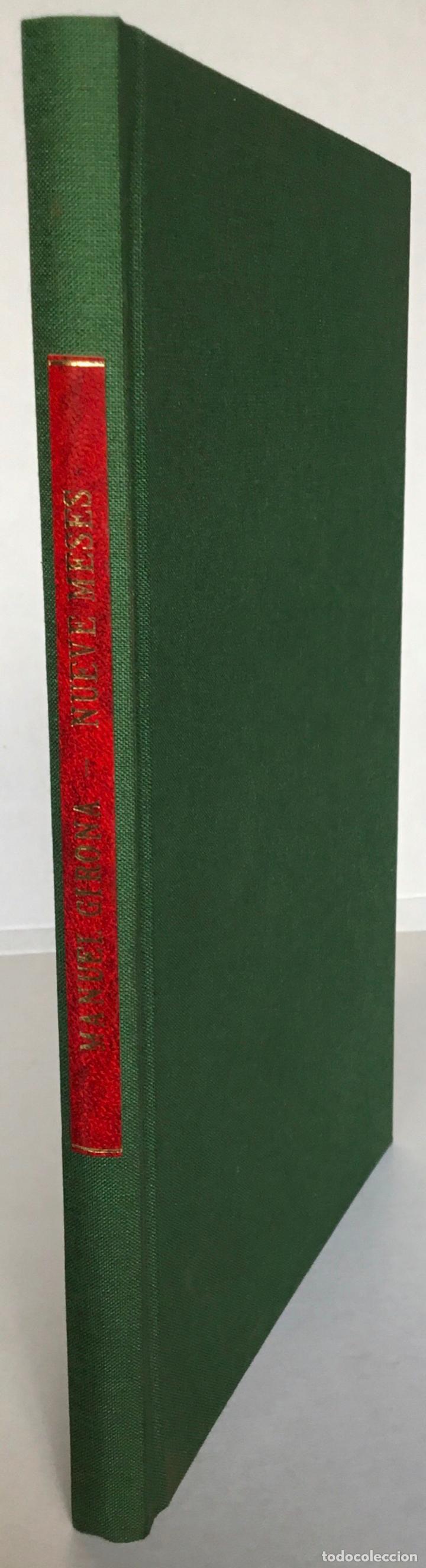 Libros antiguos: MEMORANDUM. NUEVE MESES DE ALCALDE PRIMERO DE BARCELONA. - GIRONA, Manuel. - Foto 2 - 123194972