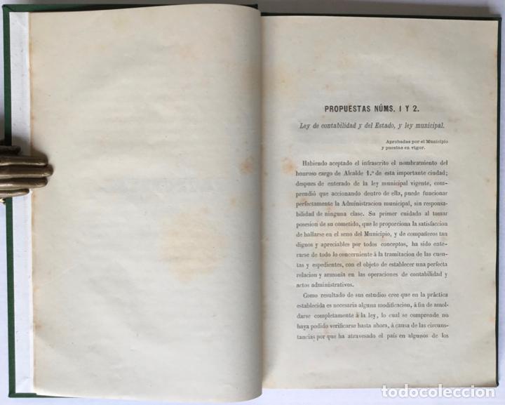 Libros antiguos: MEMORANDUM. NUEVE MESES DE ALCALDE PRIMERO DE BARCELONA. - GIRONA, Manuel. - Foto 4 - 123194972
