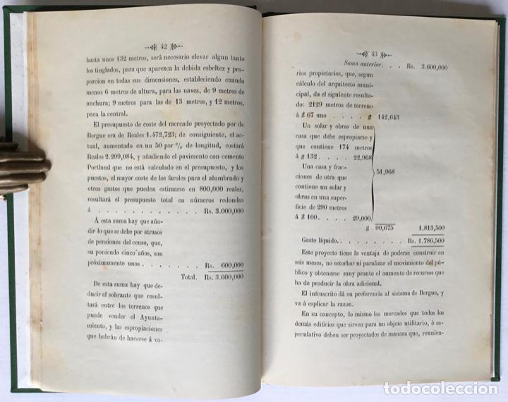 Libros antiguos: MEMORANDUM. NUEVE MESES DE ALCALDE PRIMERO DE BARCELONA. - GIRONA, Manuel. - Foto 5 - 123194972