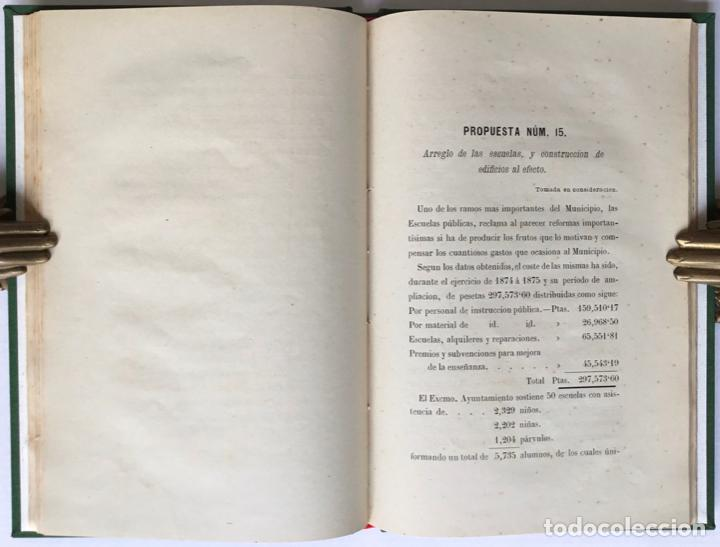 Libros antiguos: MEMORANDUM. NUEVE MESES DE ALCALDE PRIMERO DE BARCELONA. - GIRONA, Manuel. - Foto 7 - 123194972