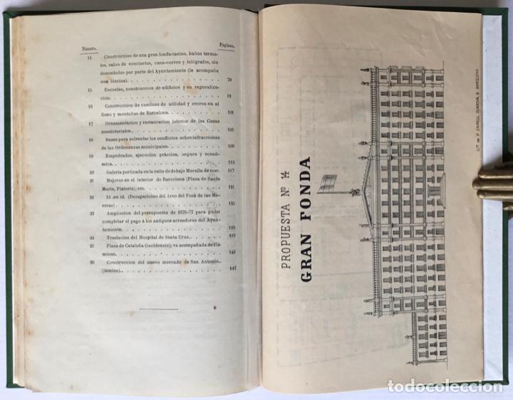 Libros antiguos: MEMORANDUM. NUEVE MESES DE ALCALDE PRIMERO DE BARCELONA. - GIRONA, Manuel. - Foto 8 - 123194972
