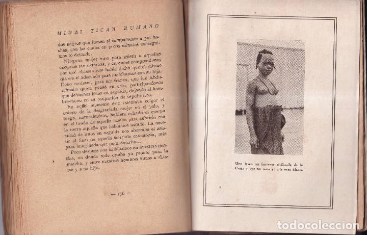 Libros antiguos: EL HOMBRE MONO Y SUS MUJERES - MIHAI TICAN RUMANO - ED LUX BARCELONA 1928 - Foto 2 - 254880545