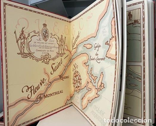 Libros antiguos: Le port de Montréal au soixantième anniversaire... 1927. (Puerto de Montréal. Mapas. Fotografías. - Foto 3 - 255994335