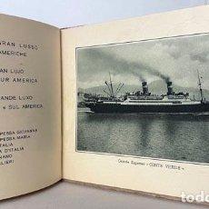 Libros antiguos: CONTE VERDE (SERVICIO GRAN LUJO MEDITERRÁNEO NORTE Y SUR AMÉRICA. (1926) LLOYD SABAUDO. Lote 256477200