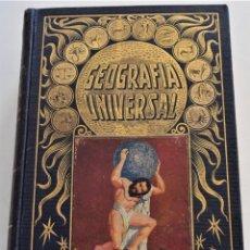 Libros antiguos: GEOGRAFÍA UNIVERSA - BIBLIOTECA HISPANIA - AGUSTÍN BLÁNQUEZ FRAILE - EDITORIAL RAMÓN SOPENA AÑO 1931. Lote 259916420