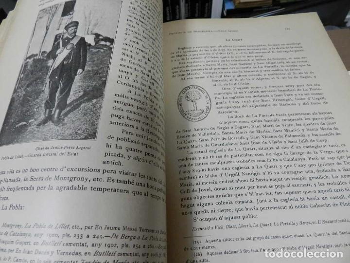 Libros antiguos: GEOGRAFIA GENERAL DE CATALUNYA. DIRIGIDA. FRANCESC CARRERAS I CANDI, 6 VOL.OBRA COMPLETA - Foto 5 - 261203795