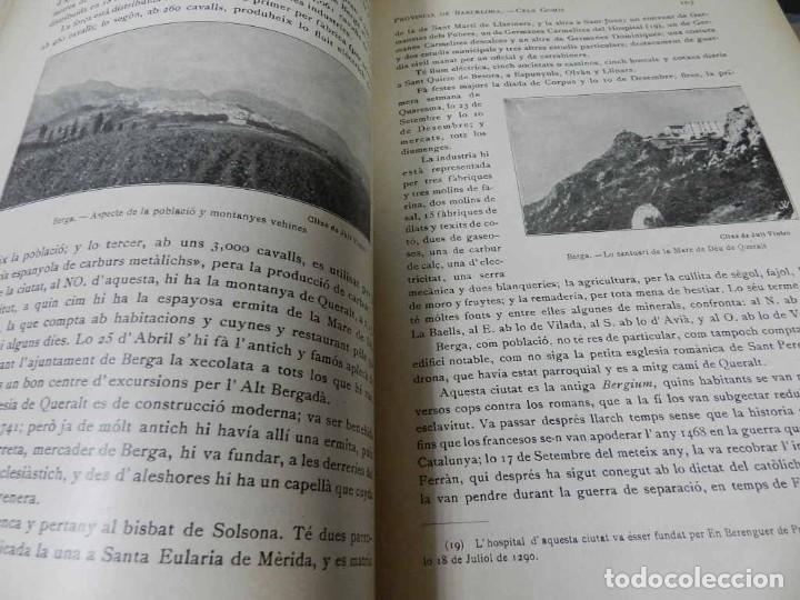 Libros antiguos: GEOGRAFIA GENERAL DE CATALUNYA. DIRIGIDA. FRANCESC CARRERAS I CANDI, 6 VOL.OBRA COMPLETA - Foto 6 - 261203795