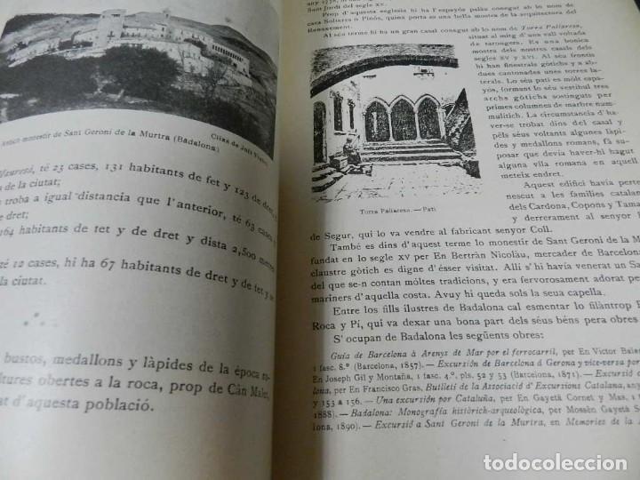 Libros antiguos: GEOGRAFIA GENERAL DE CATALUNYA. DIRIGIDA. FRANCESC CARRERAS I CANDI, 6 VOL.OBRA COMPLETA - Foto 7 - 261203795