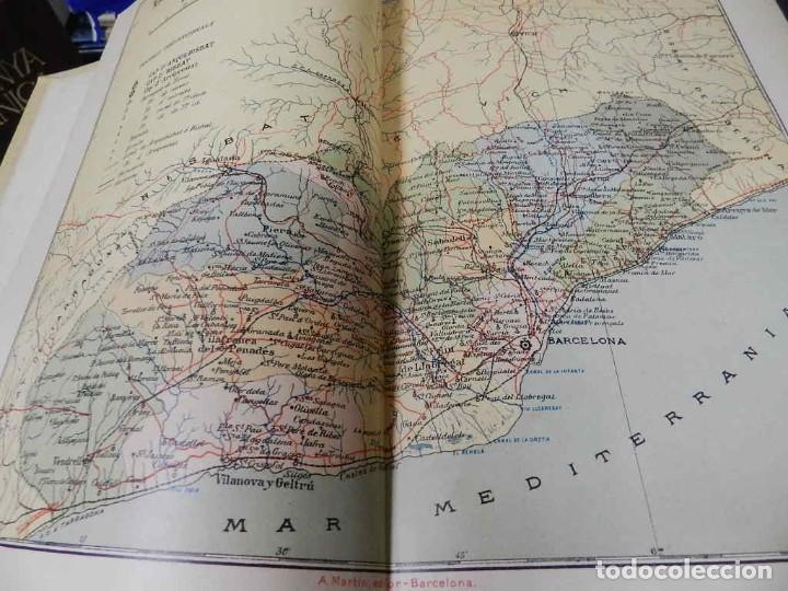 Libros antiguos: GEOGRAFIA GENERAL DE CATALUNYA. DIRIGIDA. FRANCESC CARRERAS I CANDI, 6 VOL.OBRA COMPLETA - Foto 8 - 261203795