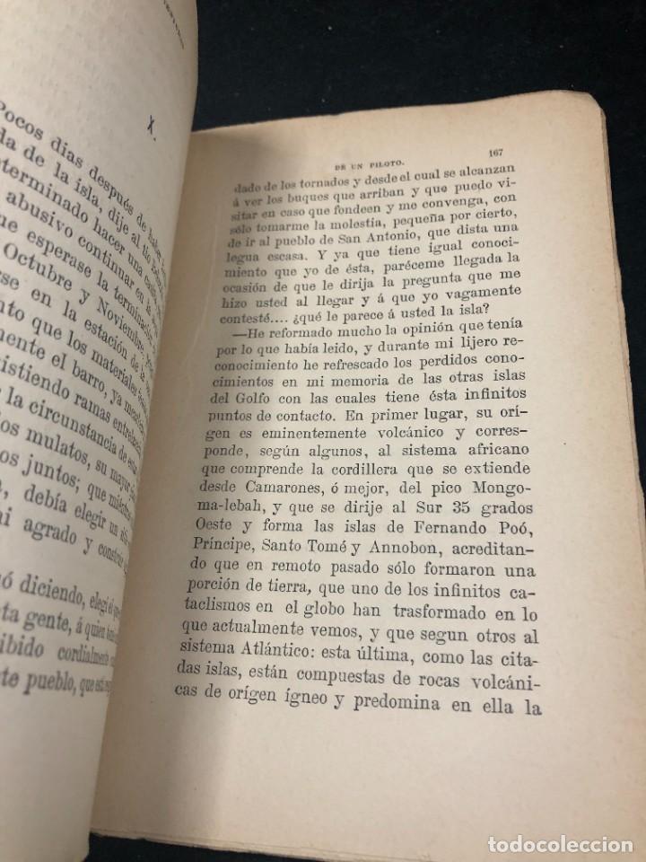 Libros antiguos: AVENTURAS DE UN PILOTO EN EL GOLFO DE GUINEA POR DONACUIGE 1886 original muy raro - Foto 4 - 261241875