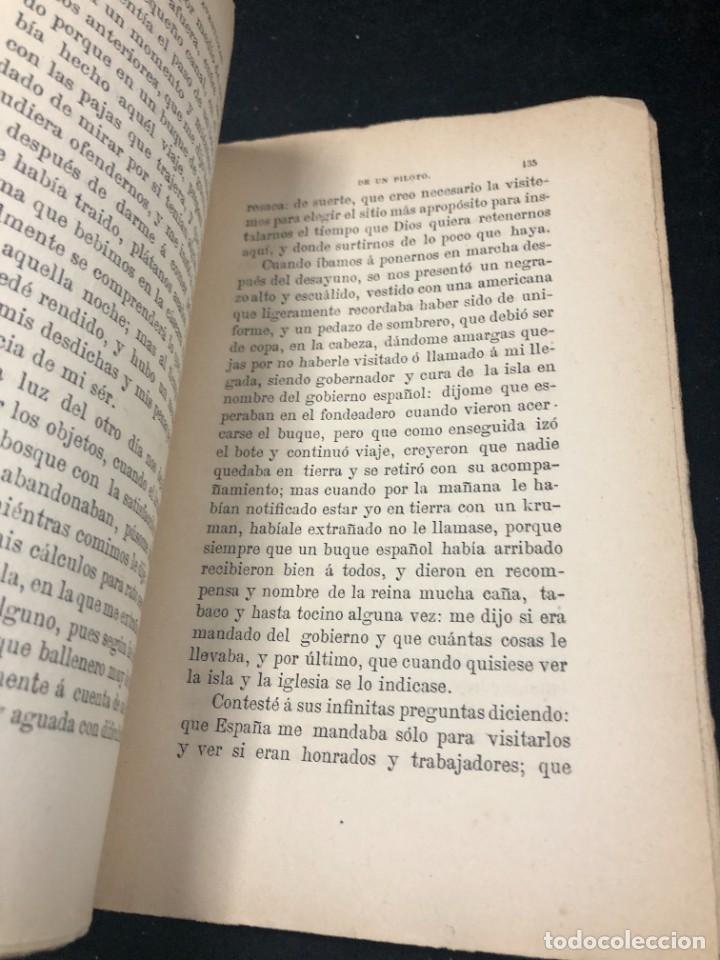 Libros antiguos: AVENTURAS DE UN PILOTO EN EL GOLFO DE GUINEA POR DONACUIGE 1886 original muy raro - Foto 5 - 261241875