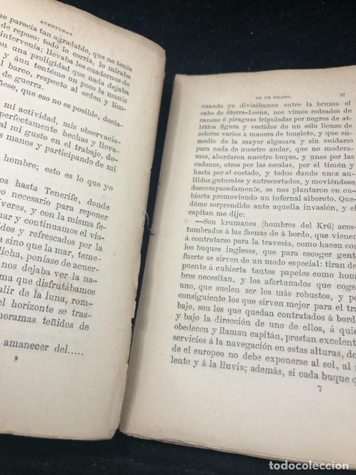 Libros antiguos: AVENTURAS DE UN PILOTO EN EL GOLFO DE GUINEA POR DONACUIGE 1886 original muy raro - Foto 6 - 261241875