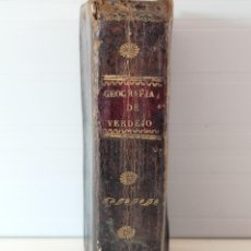 Libros antiguos: LIBRO GEOGRAFÍA DE VERDEJO - CUARTA EDICIÓN - AGOSTO DE 1832. Lote 261600955