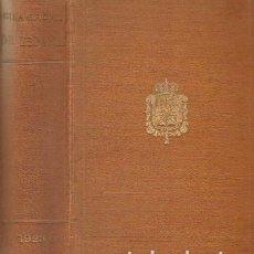 Libros antiguos: RESUMEN HISTÓRICO DE LA GUIA OFICIAL DE ESPAÑA. ESTUDIO DOCUMENTAL. A-GUIAS-111. Lote 261605200