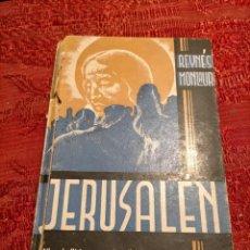 Libros antiguos: JERUSALEN DE REYNÉS MONLAUR BIBLIOTECA EMPORIUM Nº24 1925. Lote 261617775
