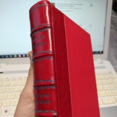 Livres anciens: DEL EBRO AL TIBER, AMOS DE ESCALANTE, ED. RENACIMIENTO, 1921. PRECIOSA ENCUADERNACION.. Lote 262095175