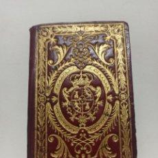 Libros antiguos: KALENDARIO MANUAL Y GUIA DE FORASTEROS MADRID 1786, PRECIOSA ENCUADERNACIÓN, MAPA, RETRATO Y PLANO.. Lote 262568400