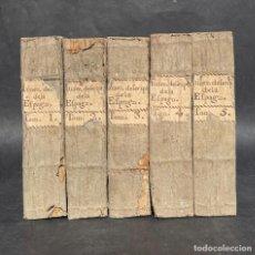 Libros antiguos: 1809 - ITINERAIRE DESCRIPTIF DE L'ESPAGNE - VIAJE POR ESPAÑA -- HISTORIA - DESCRIPCION DE ESPAÑA. Lote 262676555