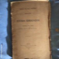 Libros antiguos: ESTUDIOS HIDROLÓGICOS PROVINCIA DE MADRID 1906 CON MAPAS. Lote 263093175