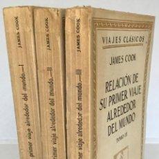 Libros antiguos: RELACIÓN DE SU PRIMER VIAJE ALREDEDOR DEL MUNDO DURANTE LOS AÑOS 1768, 1769, 1770 Y 1771. - COOK, JA. Lote 123177719
