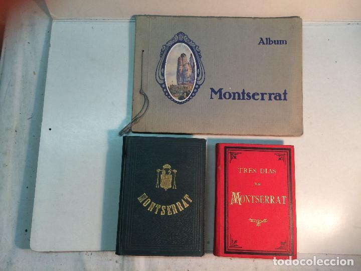 LOTE MONTSERRAT (3 LIBROS) (Libros Antiguos, Raros y Curiosos - Geografía y Viajes)