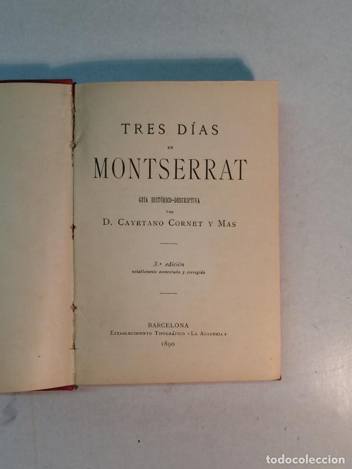 Libros antiguos: Lote Montserrat (3 libros) - Foto 6 - 263810055