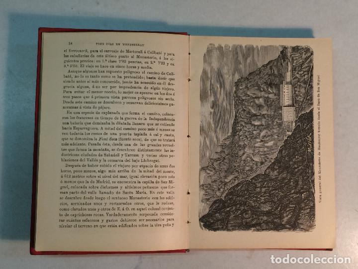Libros antiguos: Lote Montserrat (3 libros) - Foto 7 - 263810055