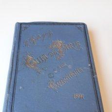 Livres anciens: GUIA DE PARIS Y SUS CERCANIAS AÑO 1891 CON PLANO DE LA CIUDAD. Lote 263968065