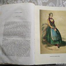 Livros antigos: RECUERDOS DE UN VIAGE POR ESPAÑA. I Y II PARTE: CASTILLA, LEÓN, OVIEDO, VASCONGADAS, ASTURIAS, 1849. Lote 264069755
