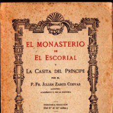 Libros antiguos: ZARCO CUEVAS : EL MONASTERIO DE EL ESCORIAL (HELÉNICA, 1926). Lote 264131060