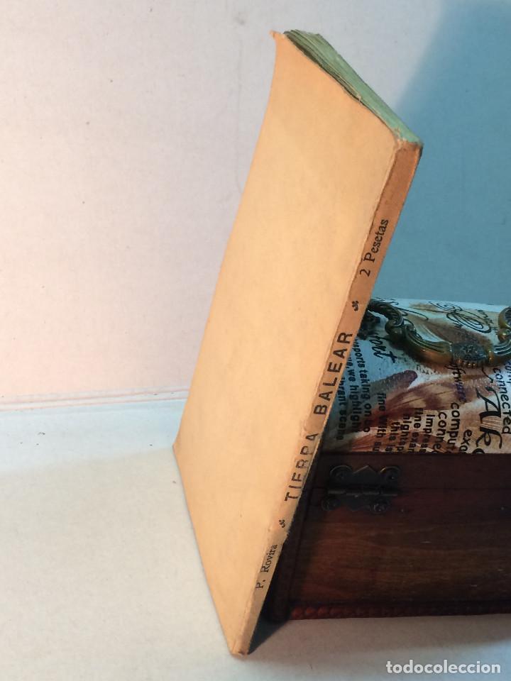 Libros antiguos: Prudencio Rovira: Tierra Balear. Esbozos mallorquines. (1913) (Dedicado) - Foto 2 - 264281576
