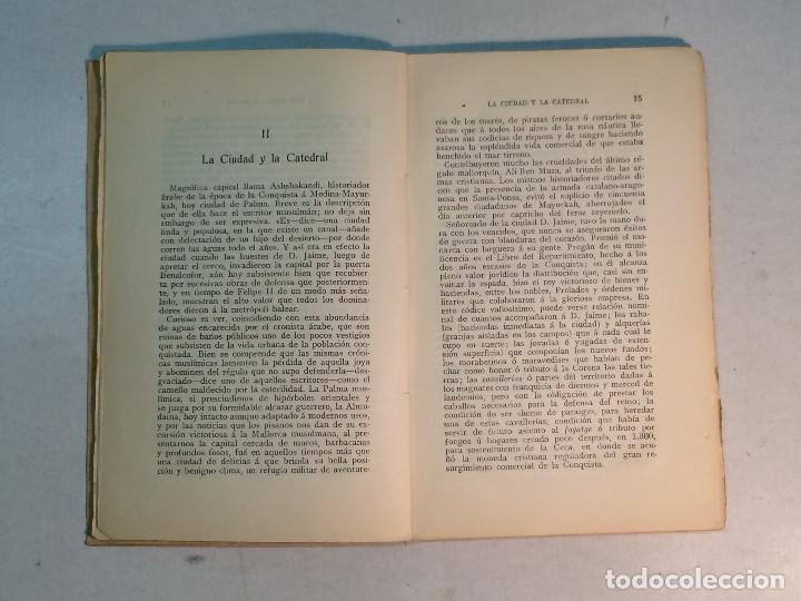Libros antiguos: Prudencio Rovira: Tierra Balear. Esbozos mallorquines. (1913) (Dedicado) - Foto 5 - 264281576