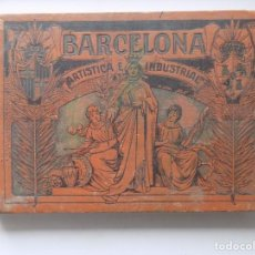 Libros antiguos: LIBRERIA GHOTICA. BARCELONA ARTISTICA E INDUSTRIAL. LUJOSO ALBUM DE FOTOGRAFIAS. 1915. FOLIO.. Lote 264544679