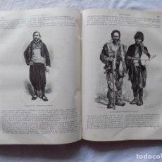 Libros antiguos: LIBRERIA GHOTICA. MONUMENTAL OBRA DE VIAJES EN 4 TOMOS. EL MUNDO EN LA MANO.1876. MUCHOS GRABADOS.. Lote 265504919