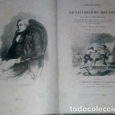 Libros antiguos: PAUL PROUST DE LA GIRONIÈRE AVENTURES D UN GENTILHOMME BRETON AUX ILES PHILIPPINES FILIPINAS. Lote 265827434