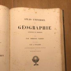 Libros antiguos: ATLAS UNIVERSEL DE GÉOGRAPHIE ANCIENNE ET MODERNE PAR AMBROISE TARDIEU. Lote 266268453