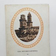 Libros antiguos: GUÍA HISTÓRICO-ARTÍSTICA DEL MONASTERIO DE SOBRADO DE LOS MONJES. JACINTO CLAVERÍA. 1935. ILUSTRADO. Lote 266300888