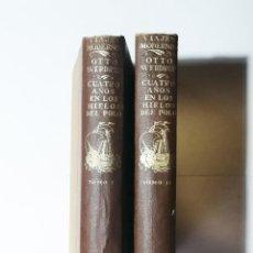 Livros antigos: OTTO SVERDRUP. CUATRO AÑOS EN LOS HIELOS DEL POLO. 2 TOMOS. 1921.. Lote 286759268