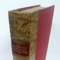 Libros antiguos: 1920 - PEDRO PASTELLS - EL DESCUBRIMIENTO DEL ESTRECHO DE MAGALLANES PARTE PRIMERA. Lote 267822149