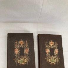 Libros antiguos: DOS LIBROS DEL AÑO 1857 GEOGRAFIA UNIVERSAL!. Lote 268769849