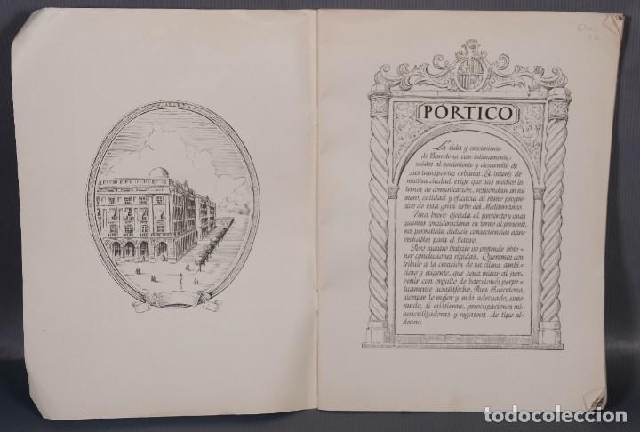 Libros antiguos: Los transportes urbanos de Barcelona - Diego Raminez Pastor 1947 - Foto 7 - 268845174