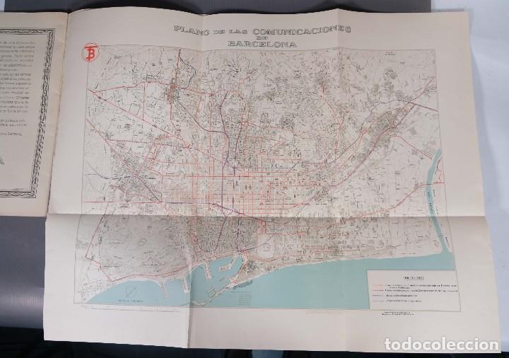 Libros antiguos: Los transportes urbanos de Barcelona - Diego Raminez Pastor 1947 - Foto 11 - 268845174