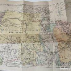 Libros antiguos: EN EL AFRICA TENEBROSA STANLEY 1891 ILUSTRADO. Lote 269139153