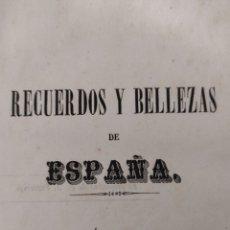 Libros antiguos: RECUERDOS Y BELLEZAS DE ESPAÑA CÓRDOBA 1885. Lote 269387758