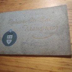 Libros antiguos: RADIUM SOL BAD KREUZNACH. VILLE. EDITÉ PAR LA DIRECTION DES BAINS 1911.. Lote 269501513