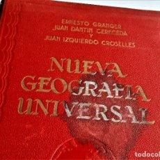 Libros antiguos: 1928 NUEVA GEOGRAFIA UNIVERSAL - TOMO II - 24 X 32.CM. Lote 269692448