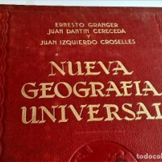 Libros antiguos: 1929 NUEVA GEOGRAFIA UNIVERSAL - TOMO III - 24 X 32.CM. Lote 269692843