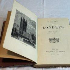 """Libros antiguos: LONDRES, SCÉNES ET CROQUIS D'APRÈS NATURE"""" PAR GUY DE LAFOREST. EN FRANCÉS.. Lote 269757203"""