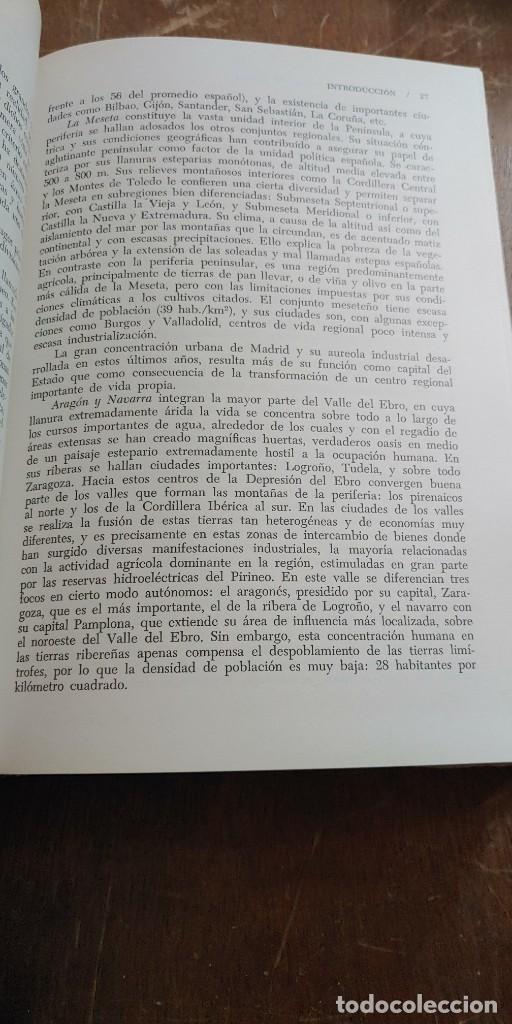 Libros antiguos: Geografia regional de España, tomó II, M.de Toran, pymy 6 - Foto 3 - 269850983