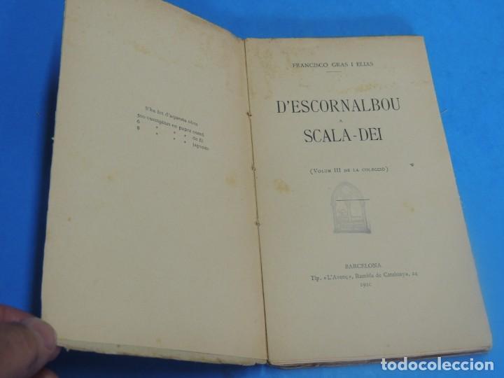 Libros antiguos: DESCORNALBOU A SCALA-DEI.- FRANCISCO GRAS I ELIAS - Foto 3 - 269851733